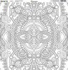 CLEARANCE | Reminisce Color It! 12x12 Scrapbook Paper: Number 5
