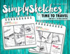 Simply Sketches Ebook: June 2017 | Time To Travel