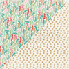 CLEARANCE   Authentique Colorful Christmas 12x12 Paper: Five