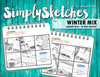 Simply Sketches Ebook: January 2018 | Winter Mix