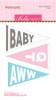 CLEARANCE | Bella Blvd Legacy Felt Pennants: Baby