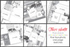 5-PACK: March 2018 | Four Photos (One Page Layouts)