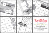 5-PACK: MARCH 2018 | Birthday Themed (Two Page Layouts)
