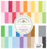Doodlebug Rainbow 12x12 Petite Print Paper Pack: Floral / Graph