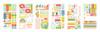 My Mind's Eye Tutti Frutti Planner Sticker Set