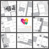 * DIGITAL DOWNLOAD * SKETCH BUNDLE: 2018 We Create Class #7 | Pack Your Bags