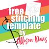 Allison Davis for SG Freebies: MOM Stitching Template