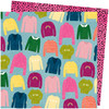 AC Amy Tangerine Slice of Life 12x12 Paper: Knit Wit