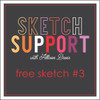 Allison Davis for SG Freebies: Sketch Support | Free Sketch #3