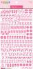 Bella Blvd Florence Alphabet Stickers: Peep