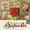 Authentique Calendar Collection 12x12 Paper Pack: September
