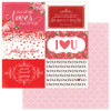 PhotoPlay Be Mine 12x12 Paper: Follow Your Heart