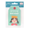 Pebbles Happy Cake Day Tag Pad (24 Piece)