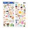 Pebbles Sun & Fun 6x12 Sticker Sheet