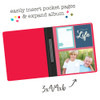 Simple Stories SN@P! 6x8 Flipbook Pages - 4x6 Pack Refills