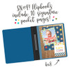 Simple Stories SN@P! 6x8 Flipbook Pages - 6x8 Pack Refills