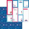 Doodlebug Land That I Love 12x12 Paper: Summer Celebration