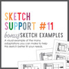 * DIGITAL DOWNLOAD * Allison Davis for SG | Sketch Support Bonus Sketch Examples #11