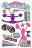 Paper House 3D Sticker: Cheerleader