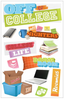 Paper House 3D Sticker: Off To College