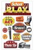Paper House 3D Sticker: School Play