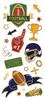Paper House StickyPix Faux Enamels Sticker: Football