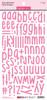 Bella Blvd Aria Puffy Alphabet Stickers: Peep