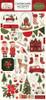 Carta Bella Hello Christmas 6x13 Chipboard Accents