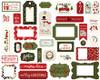 Carta Bella Hello Christmas Frames & Tags
