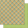 Scrapbook Customs 12x12 Outdoor Themed Paper: Adventure - Plaid