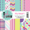 Pink & Main 6x6 Paper Pad: My Heart