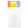 Waffle Flower Enamel Dots: Clearly Enough