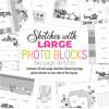 * DIGITAL DOWNLOAD * Allison Davis for SG | Sketches with Large Photo Blocks (20 sketches)
