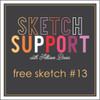 * DIGITAL DOWNLOAD * Allison Davis for SG Freebies Sketch Support | Free Sketch #13
