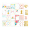 Pretty Little Studio Chasing the Sun Journaling/Pocket Cards   Sunkissed 3x4