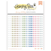 Honey Bee Stamps Crystal Gem Stickers: Spring Lullaby