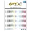 Honey Bee Stamps Crystal Gem Stickers: Log Cabin