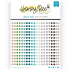 Honey Bee Stamps Crystal Gem Stickers: Beach Vibes