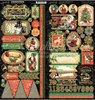 Graphic 45 Christmas Time 6x12 Sticker Sheets