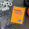 """PhotoPlay Say It With Stamps: Boo/Eek 4""""x6"""" Word Stamp"""