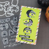 """PhotoPlay Say It With Stamps: Boo To You Halloween 4""""x6"""" Icon Stamp"""