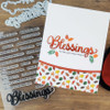 "PhotoPlay Say It With Stamps: Blessing 4""x6"" Word Stamp"