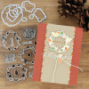 """PhotoPlay Say It With Stamps: Fall Build A Wreath 4""""x6"""" Icon Stamp"""