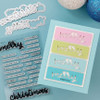 """PhotoPlay Say It With Stamps: Merry/Christmas 4""""x6"""" Word Stamp"""
