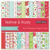 Penny Black 6x6 Paper Pad: Festive & Frosty