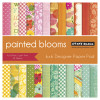 Penny Black 6x6 Paper Pad: Painted Blooms