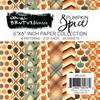 Brutus Monroe 6x6 Paper Pad: Pumpkin Spice