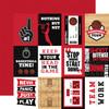 Echo Park Basketball 12x12 Paper: 3X4 Journaling Cards