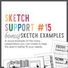 * DIGITAL DOWNLOAD * Allison Davis for SG   Sketch Support Bonus Sketch Examples #15