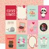 Simple Stories Sweet Talk 12x12 Paper: 3x4 Elements